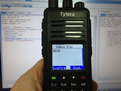 DMR SMS alerts using the SharkRF openSPOT with Node-RED